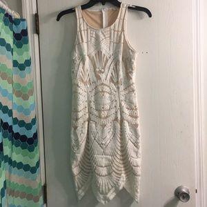 Tea & cup lace dress